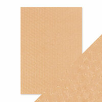 Tonic Studios - Hand Crafted Embossed Cotton Paper - A4 - Old Leather Armchair - 5 Pack