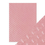 Tonic Studios - Hand Crafted Embossed Cotton Paper - A4 -Blush Heartbeat