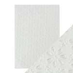 Tonic Studios - Hand Crafted Embossed Cotton Paper - A4 - English Lace