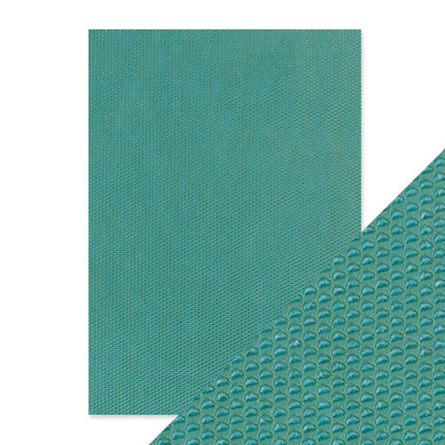Tonic Studios - Hand Crafted Embossed Cotton Paper - A4 - Mermaids Tail