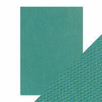 Tonic Studios - Hand Crafted Embossed Cotton Paper - A4 - Mermaids Tail - 5 Pack