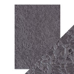 Tonic Studios - Hand Crafted Embossed Cotton Paper - A4 - Crushed Metal