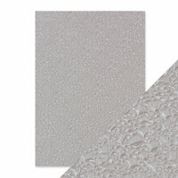 Tonic Studios - Hand Crafted Embossed Cotton Paper - A4 - Broken Glass - 5 Pack