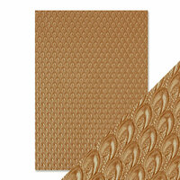 Tonic Studios - Hand Crafted Embossed Cotton Paper - A4 - Champagne Fountain - 5 Pack