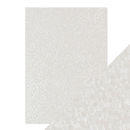 Tonic Studios - Hand Crafted Embossed Cotton Paper - A4 - Freshwater Pearls