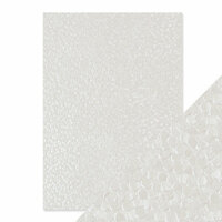 Tonic Studios - Hand Crafted Embossed Cotton Paper - A4 - Freshwater Pearls - 5 Pack