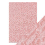 Tonic Studios - Hand Crafted Embossed Cotton Paper - A4 - Pink Champagne