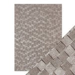 Tonic Studios - Hand Crafted Embossed Cotton Paper - A4 - Pewter Slates - 5 Pack
