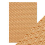 Tonic Studios - Hand Crafted Embossed Cotton Paper - A4 - Golden Scales