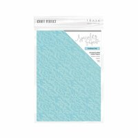 Tonic Studios - Dream In Colour Collection - Craft Perfect - Hand Crafted Cotton Paper - A4 - Caribbean Tide - 5 Pack