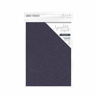 Tonic Studios - Blue Blossom Collection - Craft Perfect - Hand Crafted Cotton Paper - A4 - Midnight Sky - 5 Pack