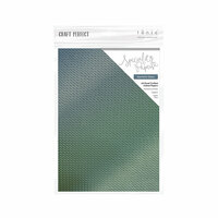 Tonic Studios - Merry and Bright Collection - Craft Perfect - Hand Crafted Cotton Paper - A4 - Geometric Galaxy - 5 Pack