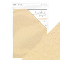 Tonic Studios - Rustic Rose Collection - Craft Perfect - 8.5 x 11 Cardstock - Speciality Paper - Peach Parfait