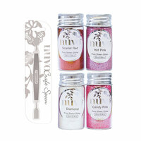 Nuvo - Craft Spoon and Pure Sheen Glitter - Cross My Heart - 5 Pack Set