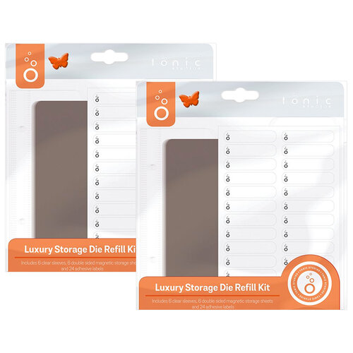 Grey Pack of 3 Tonic Studios Large Ringbinder Die Case Refill Set