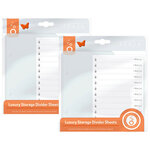 Tonic Studios - Luxury Storage Collection - Divider Sheets - 2 Pack