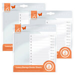Tonic Studios - Luxury Storage Collection - Divider Sheets - 3 Pack