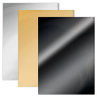 Tonic Studios - 8.5 x 11 Cardstock - Mirror Card - Satin and Gloss Essentials Pack
