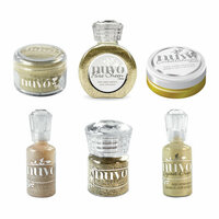 Nuvo - Glitter and Glimmer - Gold - 6 Pack Set