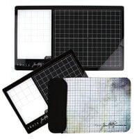 Tonic Studios - Tim Holtz - Left Handed Glass Media Mats Bundle