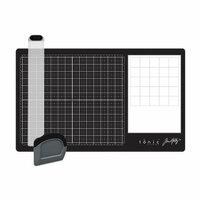 Tonic Studios - Tim Holtz - Glass Media Mat and Tool Set Bundle