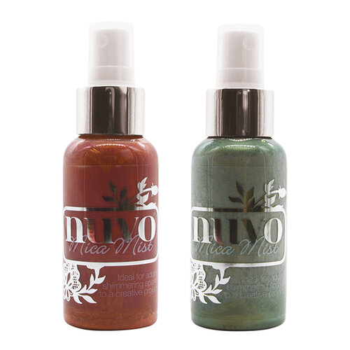 Nuvo - Merry and Bright Collection - Mica Mist - 2 Pack Set