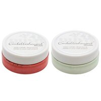 Nuvo - Merry and Bright Collection - Embellishment Mousse - 2 Pack Set