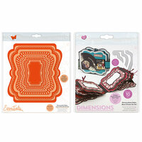 Tonic Studios - Memory Book Maker - Base and Layered Cascade Die Set - Complete Kit