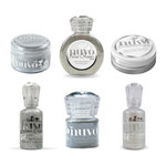Nuvo - Glitter and Glimmer - Silver - 6 Pack Set