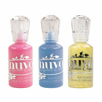 Nuvo - Surprise Party Collection - Glitter and Crystal Drops - 3 Pack Set