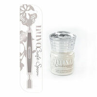 Nuvo - Craft Spoon and Embossing Powder - Shimmering Pearl - 2 Pack Set
