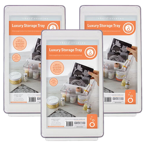 Tonic Studios - Luxury Storage Collection - Clear Tray - 3 Pack