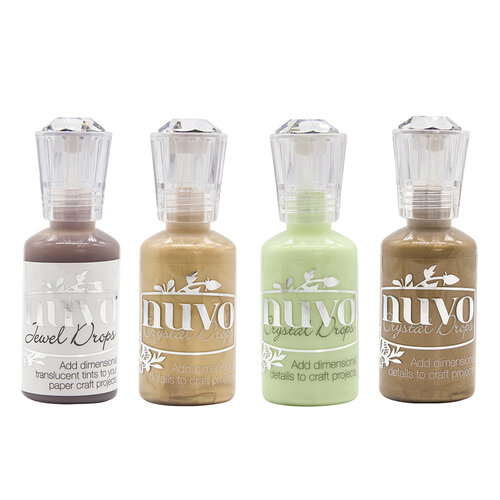 Nuvo - Woodland Walk Collection - Jewel and Crystal Drops - 4 Pack Set