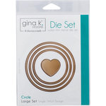 Therm O Web - Nested Die Sets - Single Stitch - Circle - Large