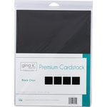 Therm O Web - Premium Cardstock - 8.5 x 11 - Black Onyx - 12 Sheets