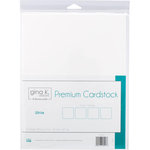 Therm O Web - Premium Cardstock - 8.5 x 11 - White - 12 Sheets