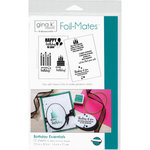 Therm O Web - Foil-Mates - 5.5 x 8.5 - Sentiments - Birthday Essentials