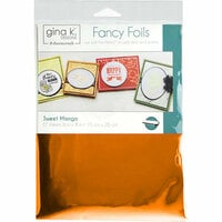 Gina K Designs - Fancy Foils - 6 x 8 - Sweet Mango