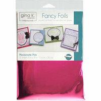 Therm O Web - Fancy Foils - 6 x 8 - Passionate Pink