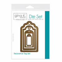 Therm O Web - Nested Die Sets - Decorative Tag