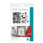 Therm O Web - Foil-Mates - 5.5 x 8.5 - Background - Holiday Flora