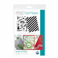 Therm O Web - Foil-Mates - 5.5 x 8.5 - Background - Ornamental Holiday