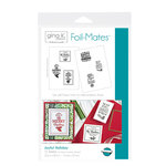 Therm O Web - Foil-Mates - 5.5 x 8.5 - Background - Joyful Holiday