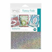 Gina K Designs - Fancy Foils - 6 x 8 - Sparkling Silver