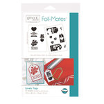 Therm O Web - Foil-Mates - 5.5 x 8.5 - Tags - Lovely