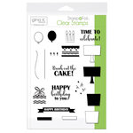Therm O Web - Stamp n Foil - Clear Acrylic Stamps - Time to Celebrate