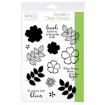 Therm O Web - Stamp n Foil - Clear Acrylic Stamps - Where Flowers Bloom