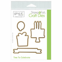 Therm O Web - Stamp n Foil - Craft Dies - Time to Celebrate