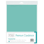 Therm O Web - Premium Cardstock - 8.5 x 11 - Turquoise Sea - 10 Pack