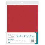 Therm O Web - Premium Cardstock - 8.5 x 11 - Red Velvet - 10 Pack